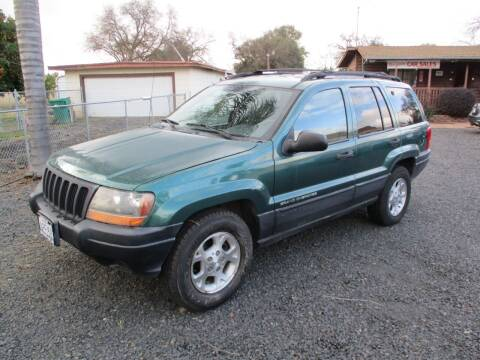 2000 Jeep Grand Cherokee for sale at Manzanita Car Sales in Gridley CA