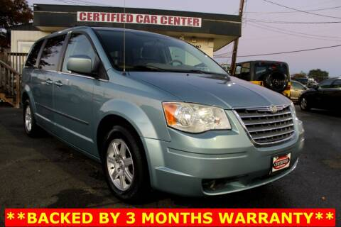 2010 Chrysler Town and Country for sale at CERTIFIED CAR CENTER in Fairfax VA