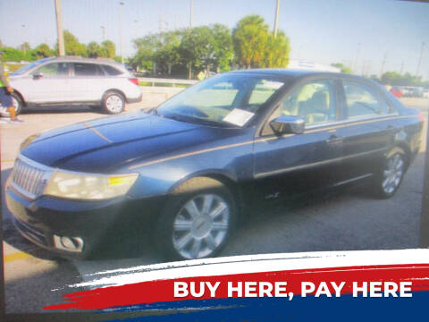 2008 Lincoln MKZ for sale at K & V AUTO SALES LLC in Hollywood FL