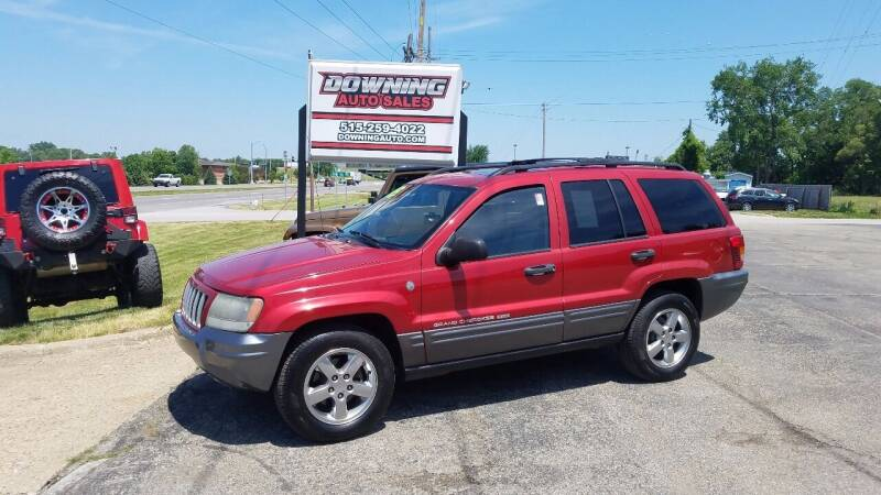 2004 Jeep Grand Cherokee for sale at Downing Auto Sales in Des Moines IA