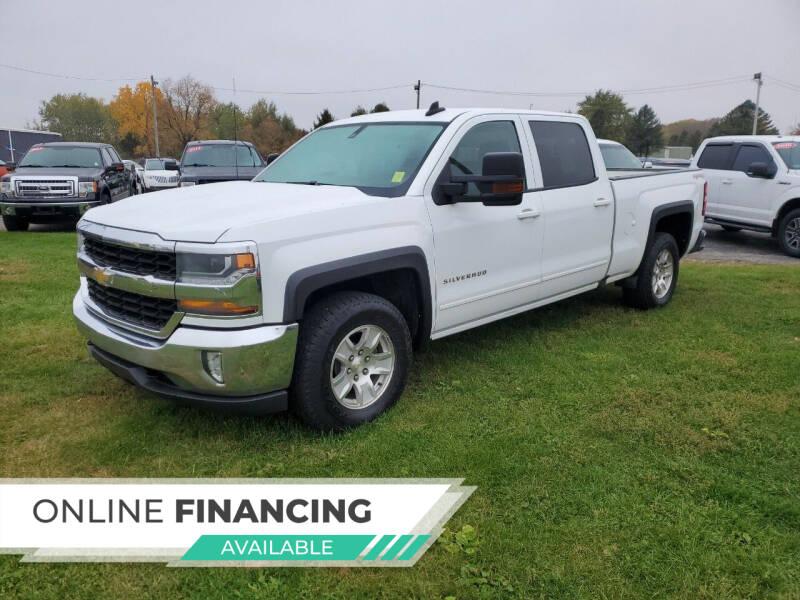 2017 Chevrolet Silverado 1500 for sale at Paris Auto Sales & Service in Big Rapids MI