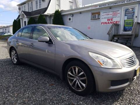 2008 Infiniti G35 for sale at Reyes Automotive Group in Lakewood NJ