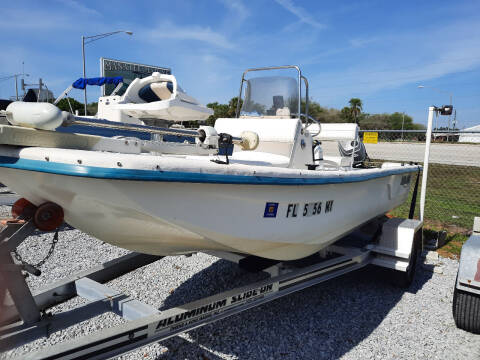 2005 Sundance 17ft Skiff for sale at Boats And Cars - Manatee Marine Unlimited in Palmetto FL
