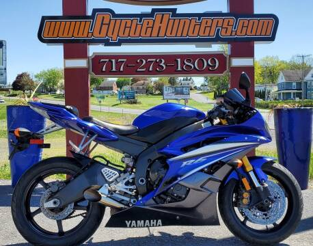 2007 Yamaha YZF-R6 for sale at Haldeman Auto in Lebanon PA