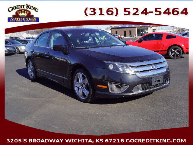 2010 Ford Fusion for sale at Credit King Auto Sales in Wichita KS