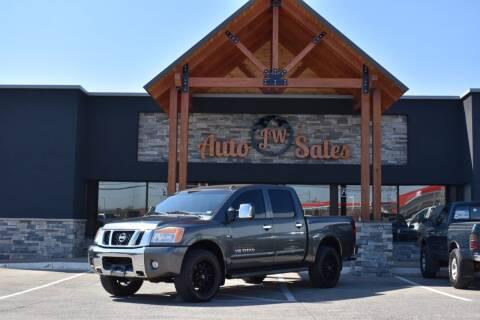 2009 Nissan Titan for sale at JW Auto Sales LLC in Harrisonburg VA
