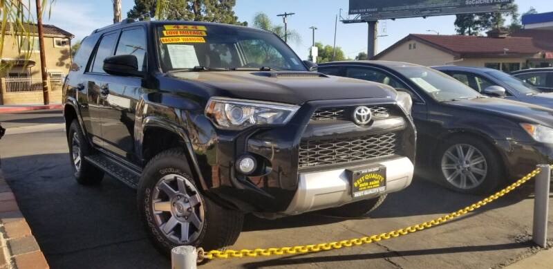 2014 Toyota 4Runner for sale at Best Quality Auto Sales in Sun Valley CA