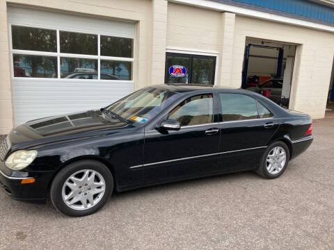 2003 Mercedes-Benz S-Class for sale at Ogden Auto Sales LLC in Spencerport NY