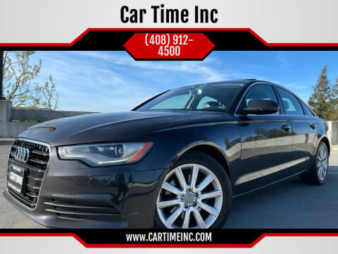 2013 Audi A6 for sale at Car Time Inc in San Jose CA