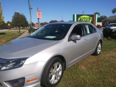 2012 Ford Fusion for sale at Auto 1 Madison in Madison GA