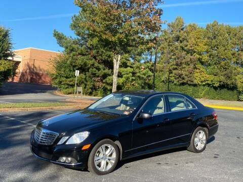 2010 Mercedes-Benz E-Class for sale at SMZ Auto Import in Roswell GA