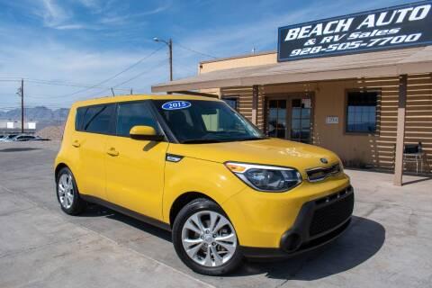 2015 Kia Soul for sale at Beach Auto and RV Sales in Lake Havasu City AZ