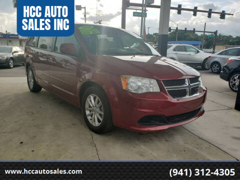 2014 Dodge Grand Caravan for sale at HCC AUTO SALES INC in Sarasota FL