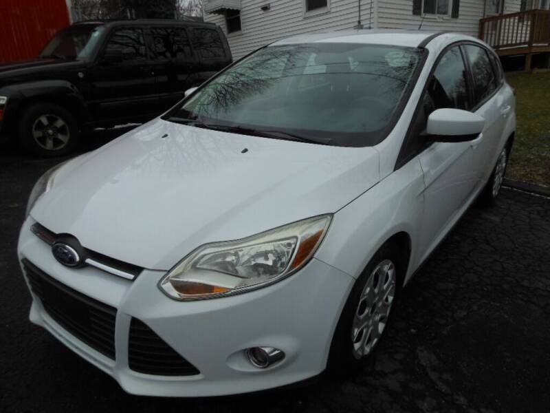 2012 Ford Focus for sale at ROTH'S AUTO SVC in Wadsworth OH