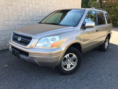 2005 Honda Pilot for sale at J & F Auto Wholesalers in Waterbury CT