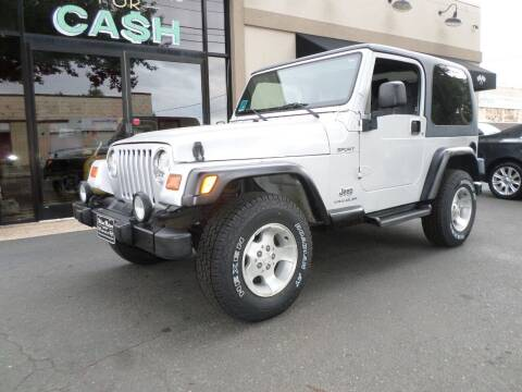 2003 Jeep Wrangler for sale at Wilson-Maturo Motors in New Haven CT