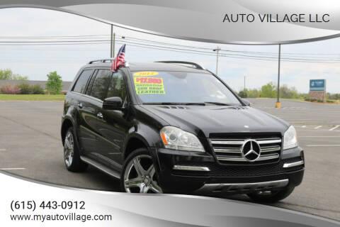 2012 Mercedes-Benz GL-Class for sale at AUTO VILLAGE LLC in Lebanon TN