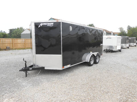 2021 Homesteader Intrepid 7x16 for sale at Jerry Moody Auto Mart - Trailers in Jeffersontown KY