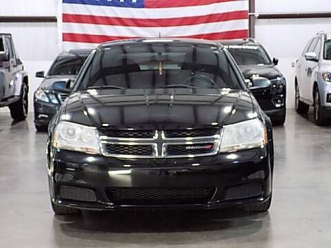 2014 Dodge Avenger for sale at Texas Motor Sport in Houston TX