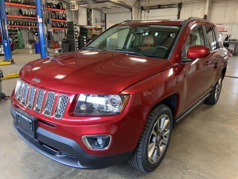 2014 Jeep Compass for sale at Blake Hollenbeck Auto Sales in Greenville MI