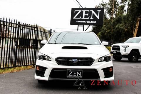 2019 Subaru WRX for sale at Zen Auto Sales in Sacramento CA