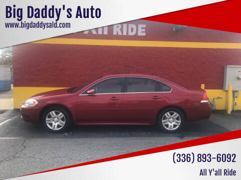 2013 Chevrolet Impala for sale at Big Daddy's Auto in Winston-Salem NC