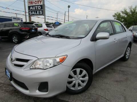 2011 Toyota Corolla for sale at TRI CITY AUTO SALES LLC in Menasha WI