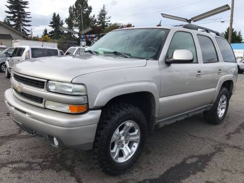 2004 Chevrolet Tahoe for sale at Stag Motors in Portland OR
