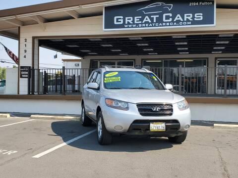 2007 Hyundai Santa Fe for sale at Great Cars in Sacramento CA