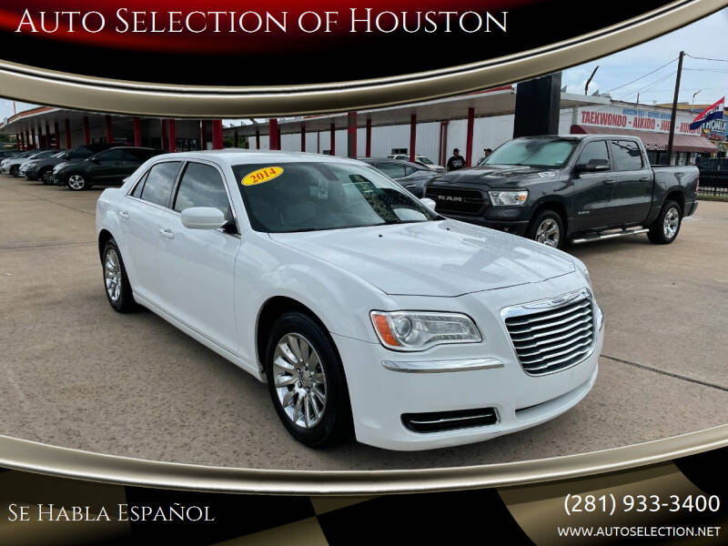 2014 Chrysler 300 for sale at Auto Selection of Houston in Houston TX
