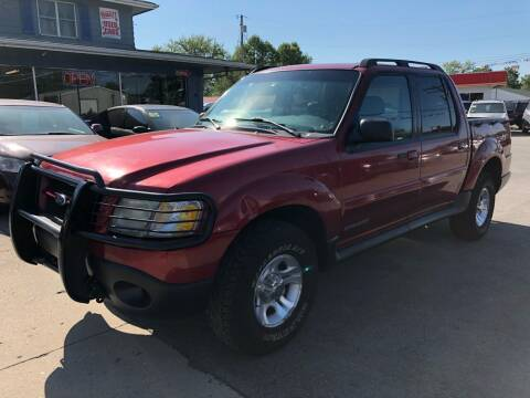 2002 Ford Explorer Sport Trac for sale at Wise Investments Auto Sales in Sellersburg IN