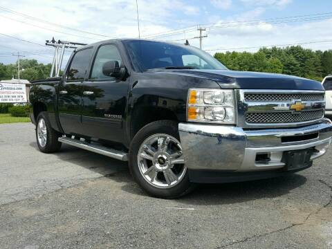2013 Chevrolet Silverado 1500 for sale at GLOVECARS.COM LLC in Johnstown NY