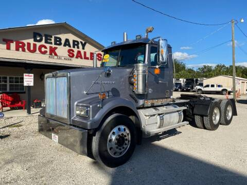 2014 Western Star 4900 SF for sale at DEBARY TRUCK SALES in Sanford FL