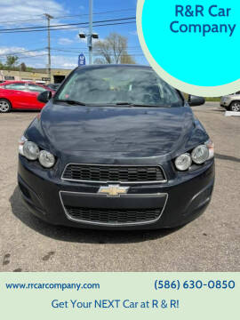 2014 Chevrolet Sonic for sale at R&R Car Company in Mount Clemens MI