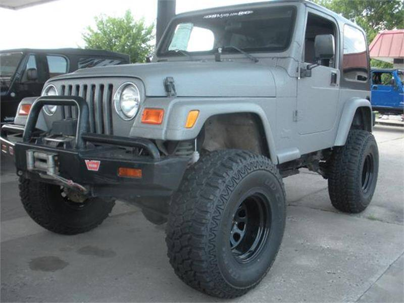 2000 Jeep Wrangler for sale at Broken Arrow Motor Co in Broken Arrow OK