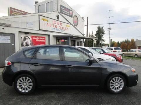2009 Subaru Impreza for sale at G&R Auto Sales in Lynnwood WA