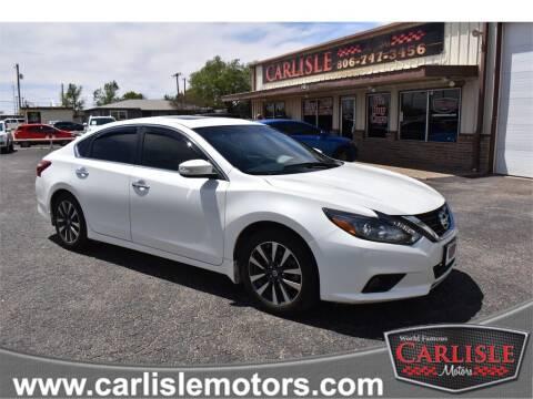 2016 Nissan Altima for sale at Carlisle Motors in Lubbock TX