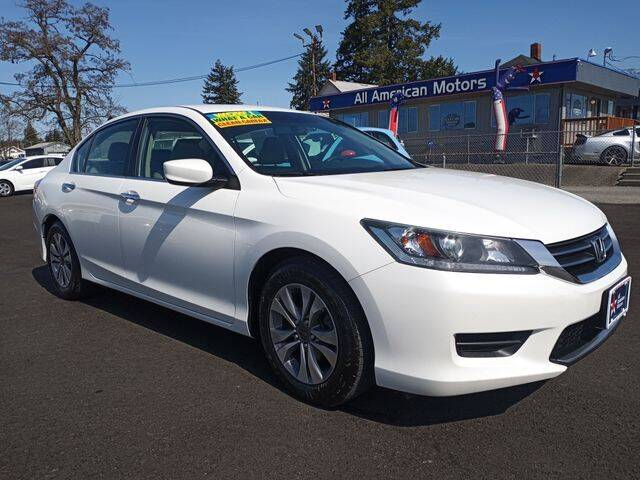 2014 Honda Accord for sale at All American Motors in Tacoma WA