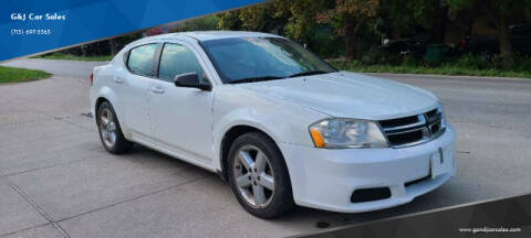 2013 Dodge Avenger for sale at G&J Car Sales in Houston TX