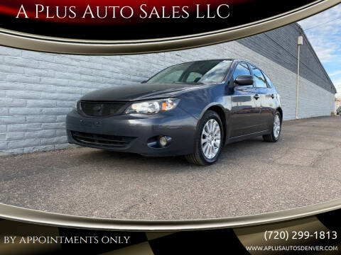 2009 Subaru Impreza for sale at A Plus Auto Sales LLC in Denver CO