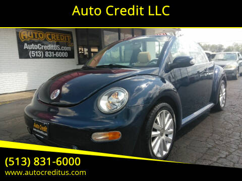 2005 Volkswagen New Beetle Convertible for sale at Auto Credit LLC in Milford OH