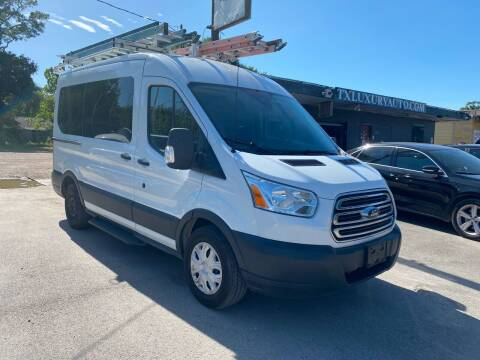 2015 Ford Transit Passenger for sale at Texas Luxury Auto in Houston TX