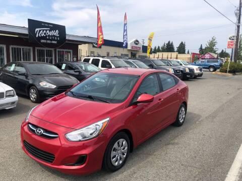 2017 Hyundai Accent for sale at Tacoma Autos LLC in Tacoma WA