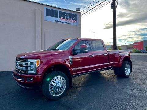 2019 Ford F-450 Super Duty for sale at Don Reeves Auto Center in Farmington NM