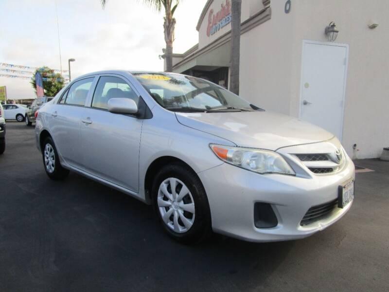2013 Toyota Corolla for sale in Chula Vista, CA