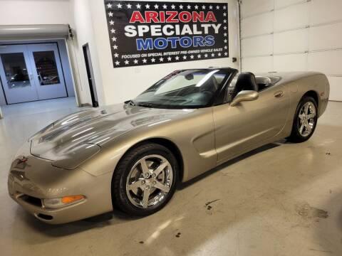 2001 Chevrolet Corvette for sale at Arizona Specialty Motors in Tempe AZ
