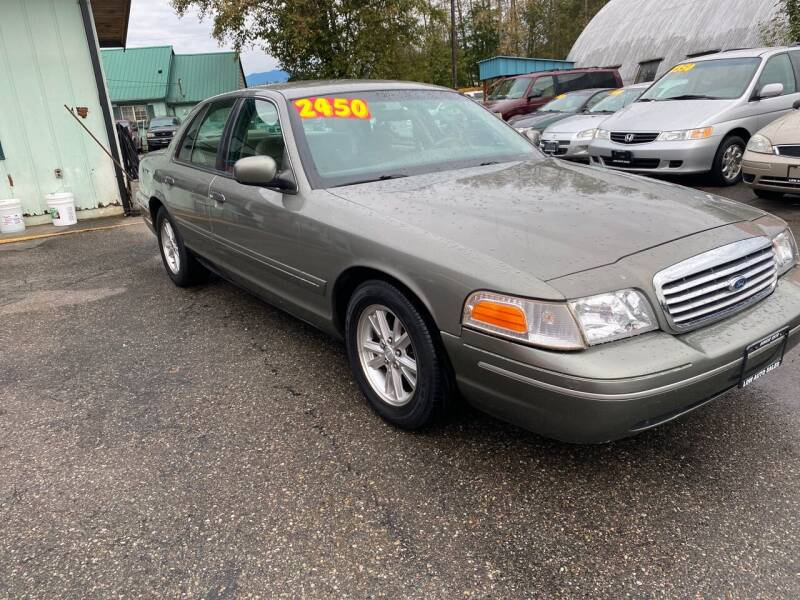 2000 Ford Crown Victoria for sale at Low Auto Sales in Sedro Woolley WA