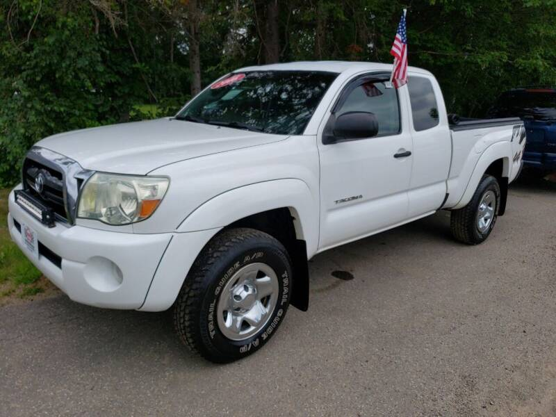 2006 Toyota Tacoma for sale at Winner's Circle Auto Sales in Tilton NH