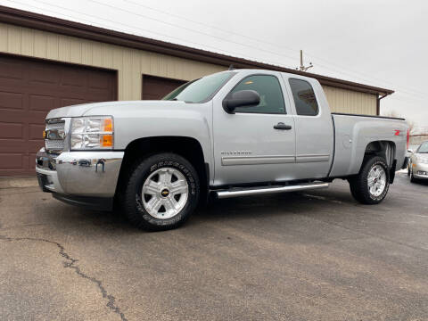 2013 Chevrolet Silverado 1500 for sale at Ryans Auto Sales in Muncie IN
