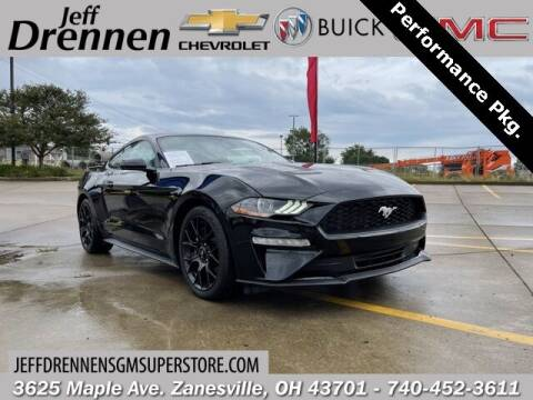 2018 Ford Mustang for sale at Jeff Drennen GM Superstore in Zanesville OH